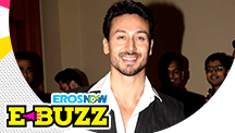 Tiger Shroff at the launch of an app