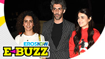 Sanya Malhotra and Jim Sarbh Spotted At A Screening
