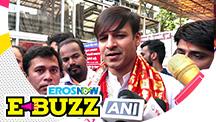 Vivek Oberoi seeks blessings