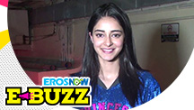 Ananya Panday, Tara Sutaria and Tiger Shroff at a special screening