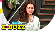 Dia Mirza at a campaign event held in Mumbai.