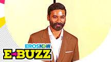 Dhanush spotted at a trailer launch in Mumbai