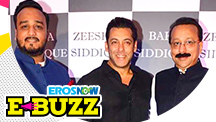 Salman Khan at an iftar party in Mumbai