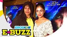 Karanvir Bohra & Priya Banerjee at a trailer launch
