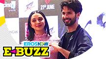 Shahid Kapoor & Kiara Advani at a song launch