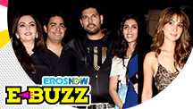 Bollywood Celebrities At Yuvraj Singh's Retirement Party