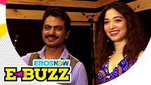 Nawazuddin Siddiqui & Tamannaah Bhatia At A Press Conference