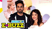 Ayushmann Khurrana & Nushrat Bharucha At A Trailer Launch