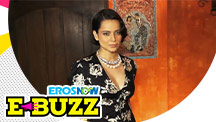 Kangana Ranaut At A Success Party.