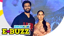 Vicky Kaushal & Nora Fatehi At A Song Success Party