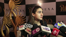 Sara Ali Khan Spotted At An Interview In Mumbai
