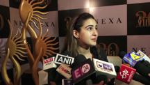 Sara Ali Khan Spotted At An Interview In Mumbai