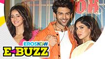 Kartik Aaryan at the trailer launch of their upcoming movie