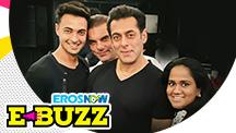 Salman Khan At Arpita Khan's Party In Mumbai