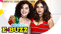 Taapsee Pannu & Bhumi Pednekar At A Success Party