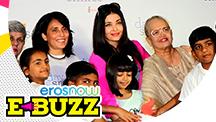 Aishwarya Rai Bachchan & Daughter Aaradhya Visit NGO Kids