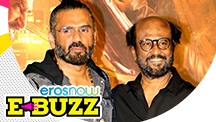 Rajinikanth At A Trailer Launch In Mumbai