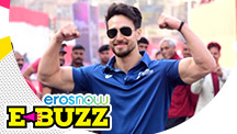 Tiger Shroff At The Mumbai Marathon