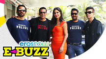 Akshay Kumar, Ajay Devgn & Ranveer Singh launch their film's trailer.