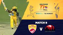 Match 8 - AD vs QLD - Eros Now T10 Moments