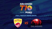 Match 8 - AD vs QLD - Full Match Highlights