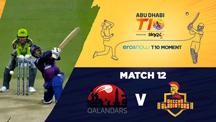 Match 12 - QLD vs DEG - Eros Now T10 Moments