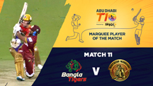 Match 11 - BGT vs NW - Marquee Player of the Match