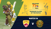 Match 14 - AD vs NW - Marquee Player of the Match