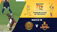 Match 18 - NW vs DEG - Marquee Player of the Match