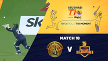 Match 18 - NW vs DEG - Eros Now T10 Moments