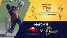 Match 16 - QLD vs MA - Eros Now T10 Moments