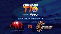 Match 16 - QLD vs MA - Full Match Highlights