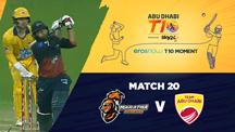 Match 20 - MA vs AD - Eros Now T10 Moments