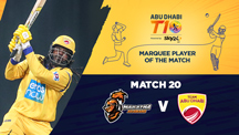Match 20 - MA vs AD - Marquee Player of the Match