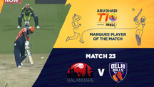 Match 23 - QLD vs DBL - Marquee Player of the Match