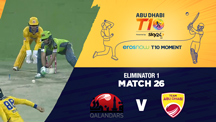Eliminator 1 - QLD vs AD - Eros Now T10 Moments