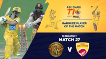 Eliminator 2 - NW vs AD - Marquee Player of the Match