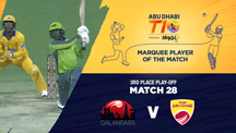 3rd Place Play-off - QLD vs AD - Eros Now T10 Moments